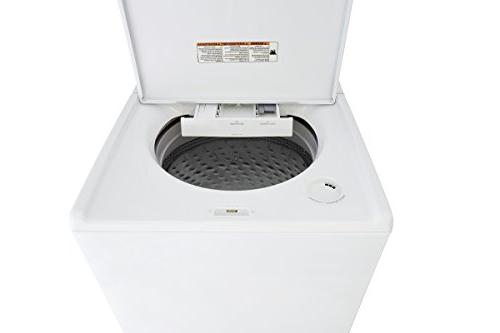 Kenmore Top Washer with Triple Impeller in White, hookup