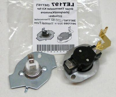 n197 dryer limit and thermal thermostat kit