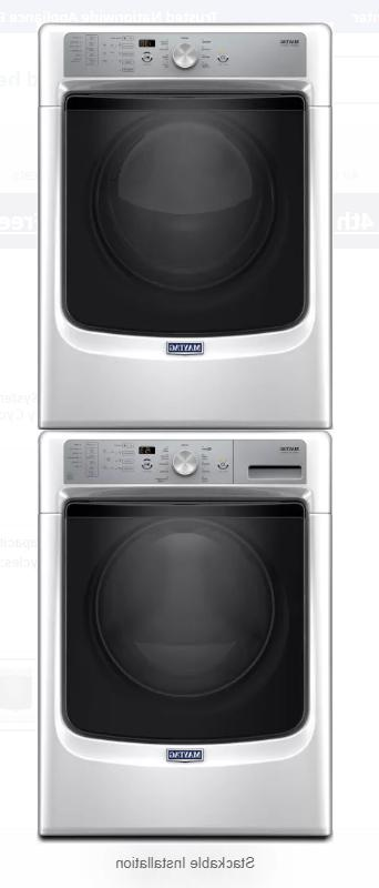 NEW!! MGD5500FW Inch GAS Dryer PowerDry White