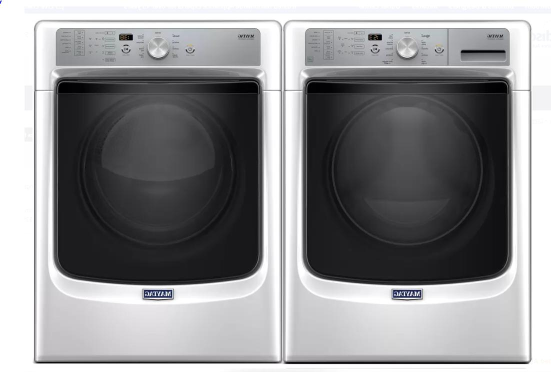 NEW!! MGD5500FW 27 Inch 7.4 cu. GAS with White