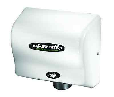 gxt9 extremeair auto white hand dryer adjustable
