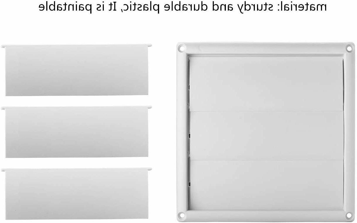 """Outdoor Vent Louvered with 6"""""""
