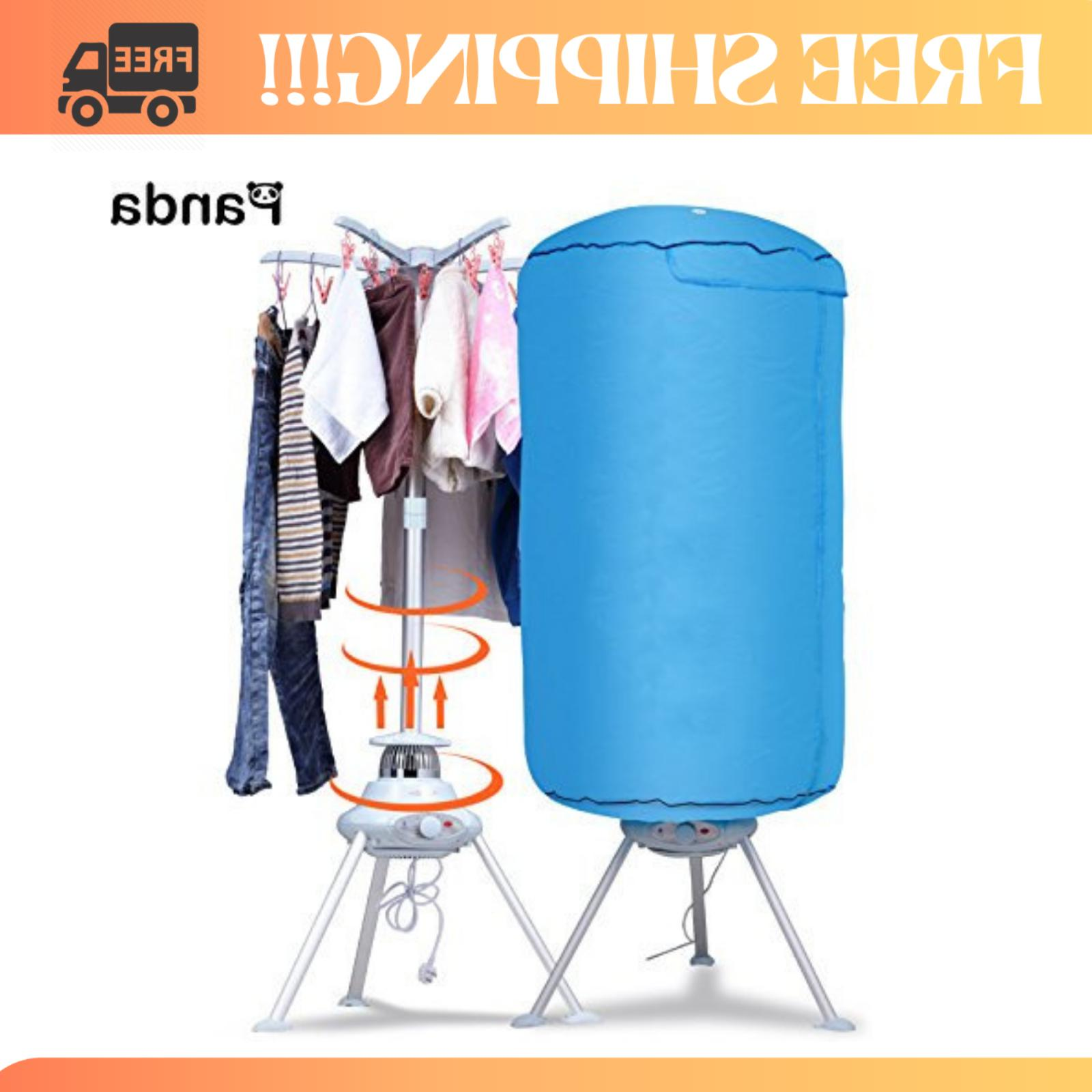 Portable Clothes Dryer Ventless Foldable Drying Machine With