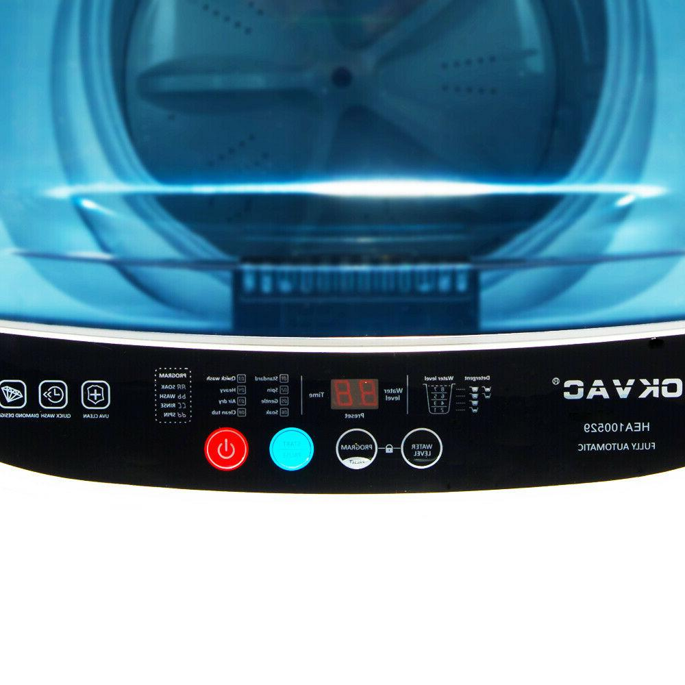 Portable Compact Full-Automatic Machine 8lbs Laundry