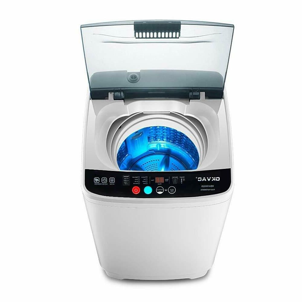 portable compact full automatic washing machine spin