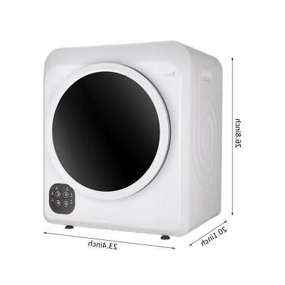Portable Electric Laundry Dryer 6KGS 13LBS Stainless
