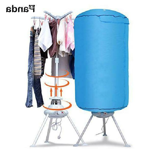 portable ventless cloths dryer foldable drying machine