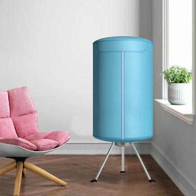 Portable Ventless Laundry Clothes Heater 900W