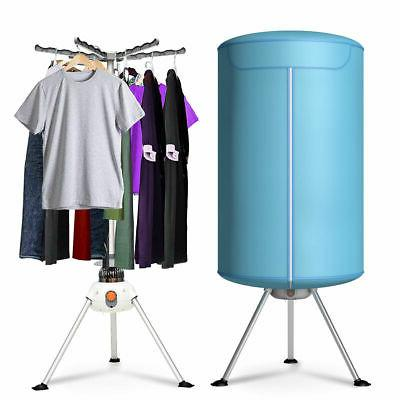 portable ventless laundry clothes dryer folding drying