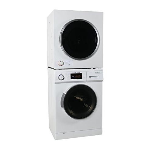 Equator set 1.6 Washer and Short in White
