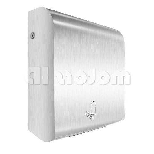 stainless steel ultrathin automatic commercial hand dryer