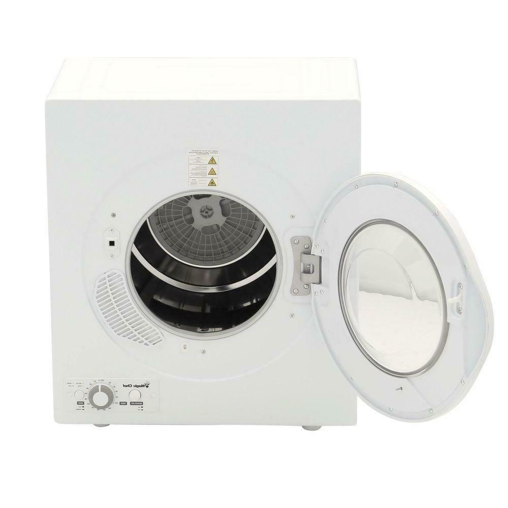 Magic Matching Compact ft. Electric Dryer White