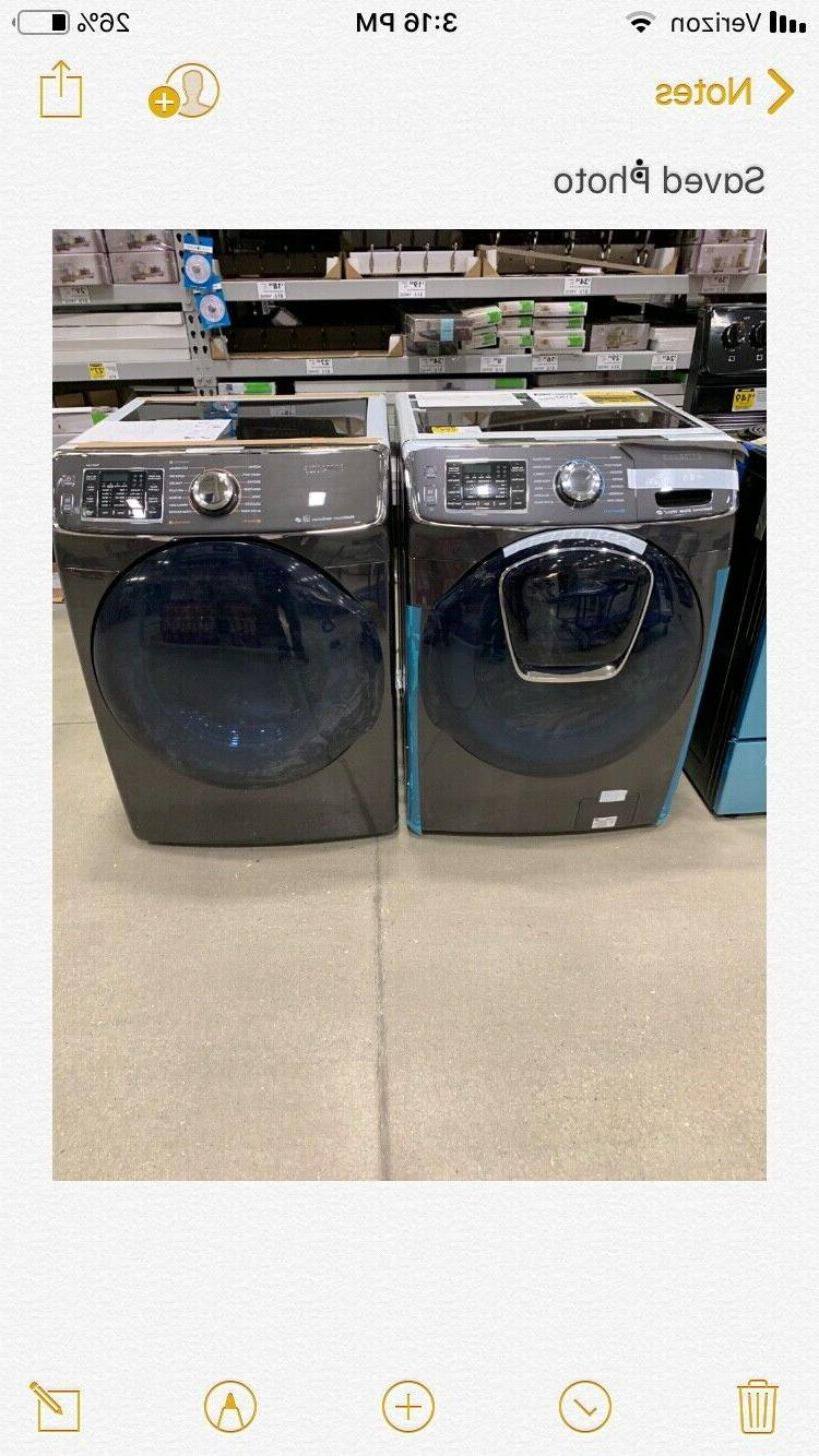 washer and gas dryer brand new