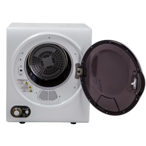 Electric Dryer cu. ft. Lint White Solution