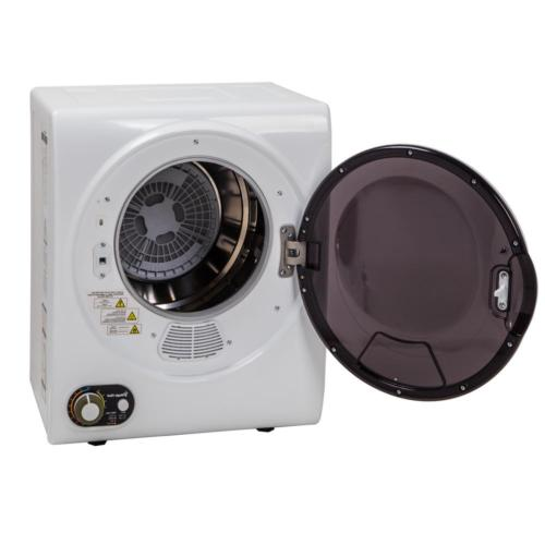 Electric cu. Lint White Small Space Drier Solution