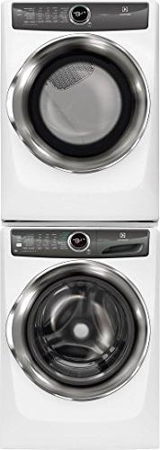 Electrolux White Front Load Laundry Pair with EFLW427UIW 27""