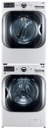 LG 5.1 Ft Front Steam Washer and Ft Electric