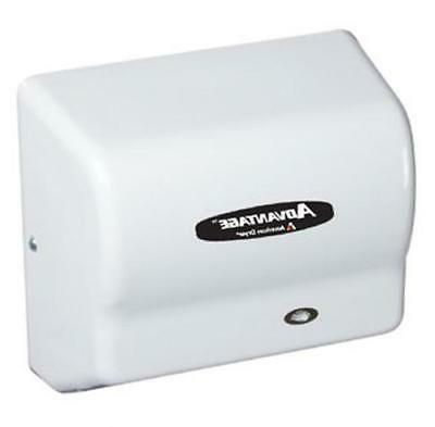 white steel advantage hand and hair dryer