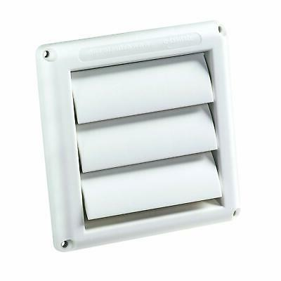 "Deflecto Supurr-Vent Louvered Outdoor Dryer Vent Cover, 4"" H"