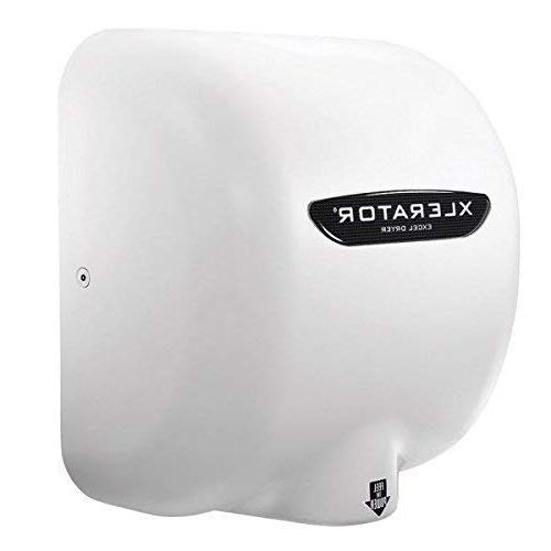 Excel Dryer 1.1N Hand Dryer, Cover, Heat and Speed Control Options with