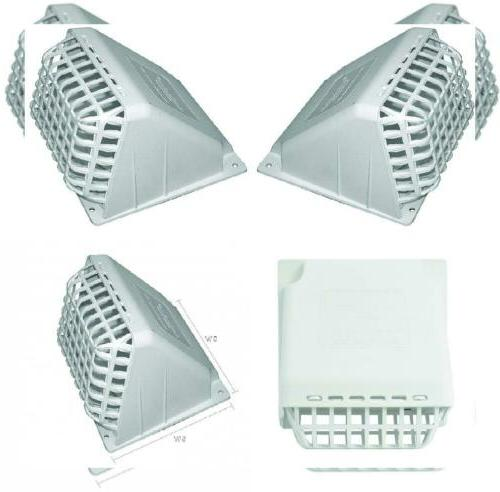 wide mouth dryer vent hood with removable