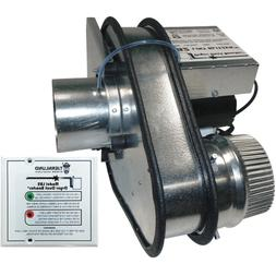 Tjernlund LB2 Dryer Duct Booster with Status Panel UL-705 Li