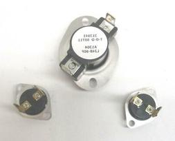 For Admiral Dryer Thermostat Kit With Hi Limit # OD2742424MT