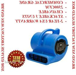 NEW B-AIR COMMERCIAL INDUSTRIAL AIR MOVER CARPET DRYER FLOOR