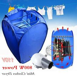 NEW Clothes Drying Bag Portable Folding Electric Dryer Machi
