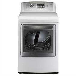 New LG DLE5001W 7.3 CU.FT. Ultra-Large Electric Dryer 240V -