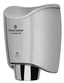 New World Dryer K-973A2  Brushed Stainless ADA SMARTdri Auto
