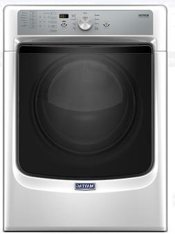 NEW!! Maytag MGD5500FW 27 Inch 7.4 cu. ft. GAS Dryer with Po