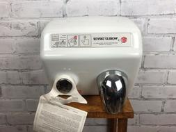 NEW -World Dryer Model A Wall-Mounted Electric Porcelain Air
