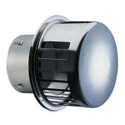 """NEW! SEIHO STAINLESS STEEL DRYER VENT 4"""" with BD DAMPER-RCC4"""