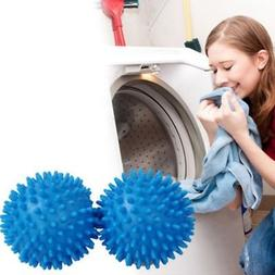 Plastic Faster Dryer Balls No Chemical Laundry Soften Fabric