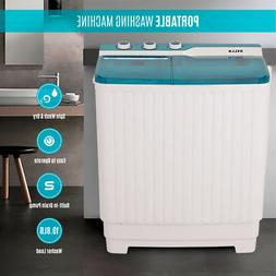 Portable Compact Twin Washing Machine Washer Spin & Dry Cycl