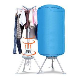 Home Portable Electric Clothes Dryer Ventless Wrinkle Laundr