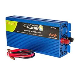 Mighty Max Battery 12V 1000W Power Inverter Dual AC Outlets