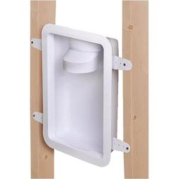 Recessed Dryer Vent Box 4in. Wall Laundry Tubing Part w/ Bui