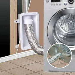 """Dundas Jafine RECESSED DRYER VENT BOX for 4"""" dryer ducts NEW"""