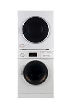 Equator Stackable set of 1.6 cu.ft. Compact Washer and 3.5 c