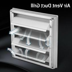 Stainless Steel Wall Air Vent Exhaust Cover Fan Outlet Tumbl