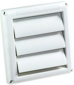Deflecto Supurr Vent Louvered Air Duct Outdoor Dryer Vent Co