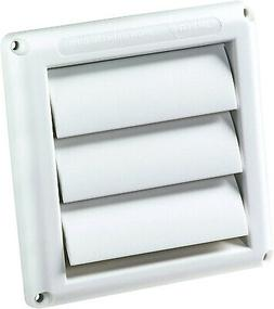 Deflecto Supurr-Vent Louvered Outdoor Dryer Vent Cover 4 Inc
