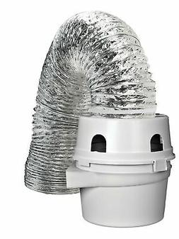 Dundas Jafine TDIDVKZW Indoor Dryer Vent Kit with 4-Inch by