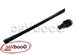 """Universal 25"""" Long Flexible Crevice Tool with Detachable Bru"""