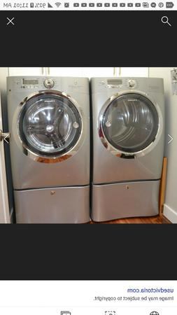 Electrolux Washer and Dryer, new, gray, front loader, sellin