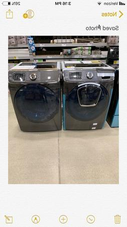 samsung washer and gas dryer brand new with paperwork black