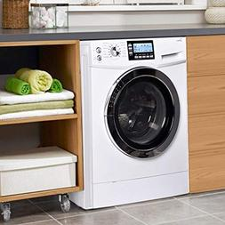 """24"""" Washer Dryer Combo Compact White 2.0 Cubic. ft. Capacity"""