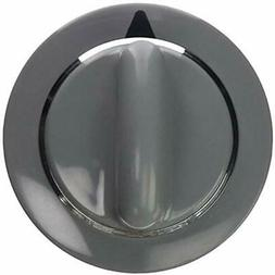 WE1M964 Timer Knob with Metal Ring for General Electric Drye